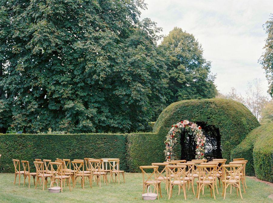 Arche fleurie mariage