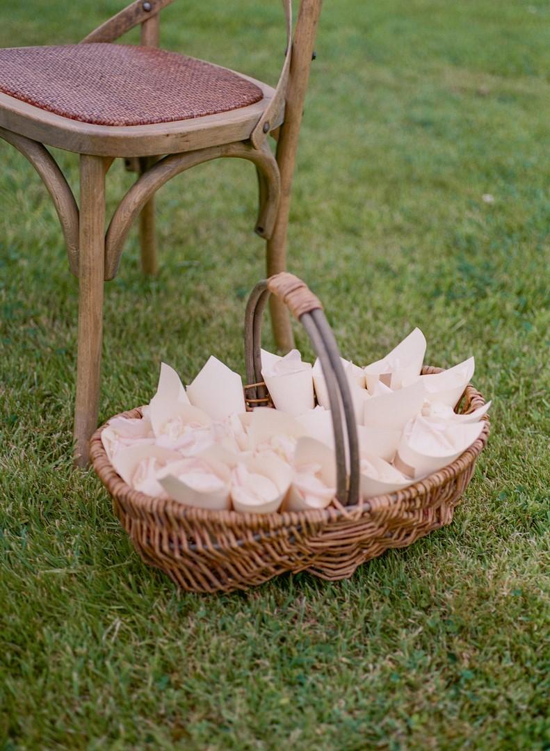 cone carton cérémonie laique