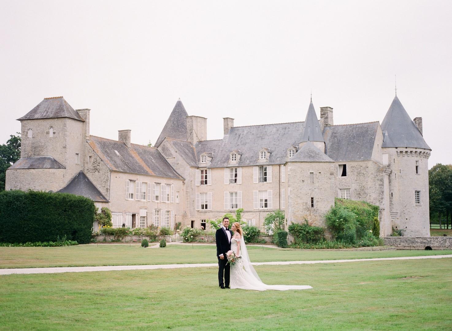 mariage chateau calvados