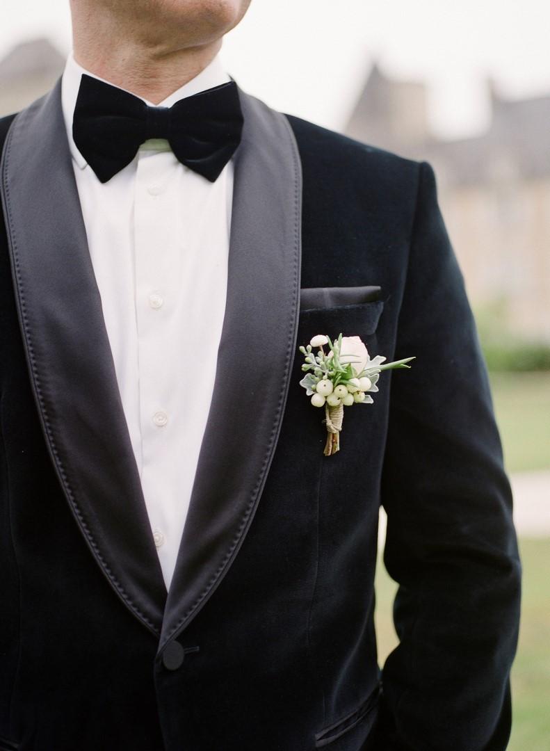 boutonniere mariage