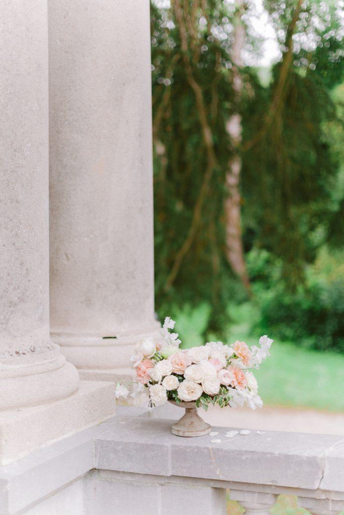 centre-de-table-rose-pale-lily-paloma