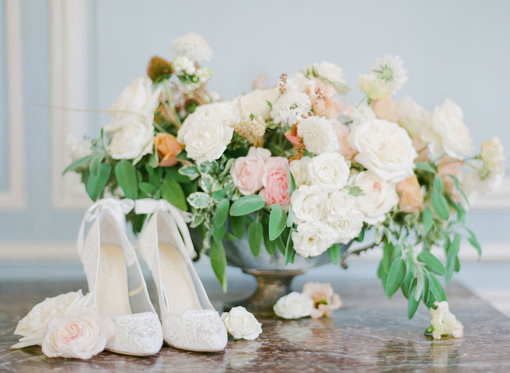 bella-belle-shoes-flatlay-wedding-photography-flowers-lily-paloma