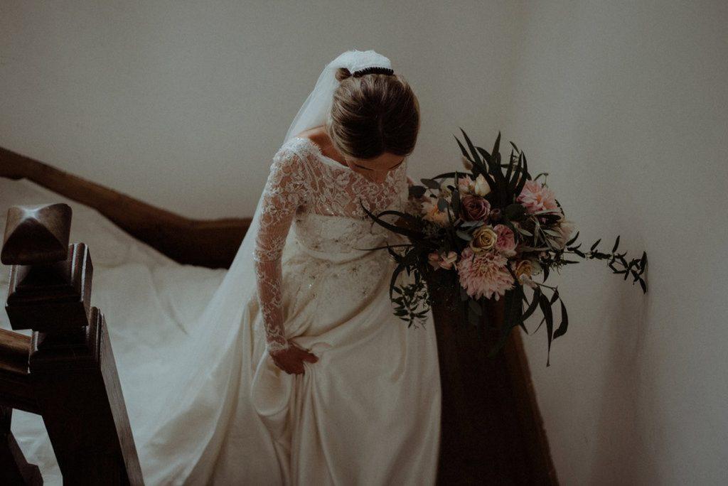preparatif mariage mariée
